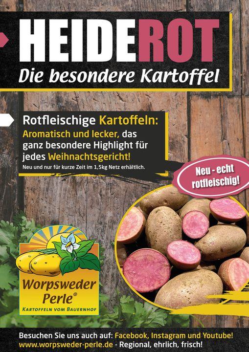Heiderot die besondere Kartoffel